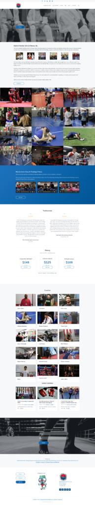 full chicago wordpress design view