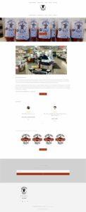 full website view